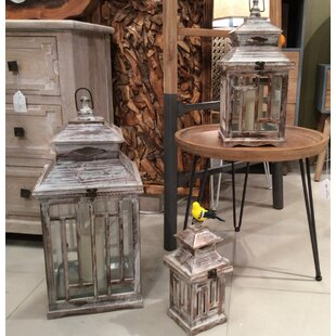 Set Of 3 Lanterns Wayfair