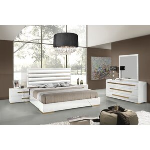 white modern bedroom.  Modern Contemporary Bedroom Sets AllModern