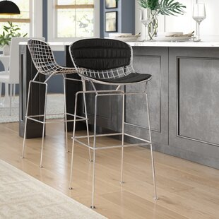 Top Reviews Makris 30 Bar Stool (Set of 2) by Ivy Bronx Reviews (2019) & Buyer's Guide
