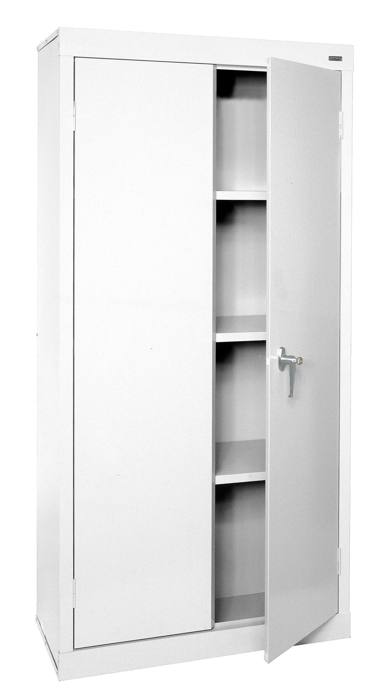 Sandusky Value Line 2 Door Storage Cabinet Reviews Wayfair
