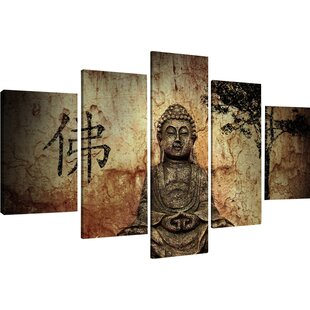 U0027Buddhau0027 Multi Piece Image Graphic Art Print On Canvas