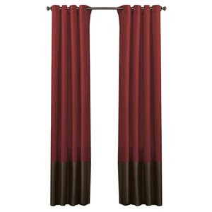 Lucille Solid Blackout Grommet Curtain Panels (Set of 2)
