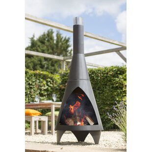 Review Steel Wood Burning Chiminea