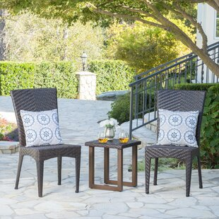 Mantz 3 Piece Rattan Conversation Set