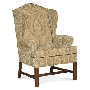 Bainbridge Wingback Chair by Fairfield Chair Design