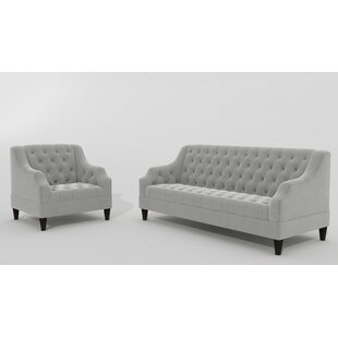Savings Petrie 2 Piece Living Room Set by Canora Grey Reviews (2019) & Buyer's Guide