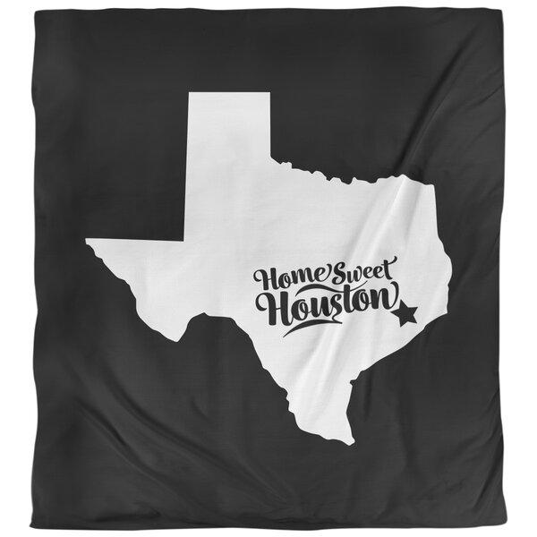 East Urban Home Houston Texas Sports Colors Single Reversible Duvet Cover Wayfair