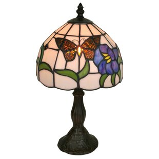 Amora Lighting Tiffany Table Lamp