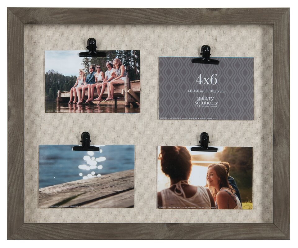 Highland Dunes 4 Clip Collage Picture Frame & Reviews | Wayfair