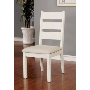 Rozlynn Upholstered Dining Chair (Set of 2) Highland Dunes