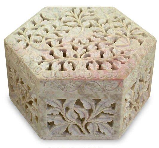 'White Jasmine' Jewelry Box