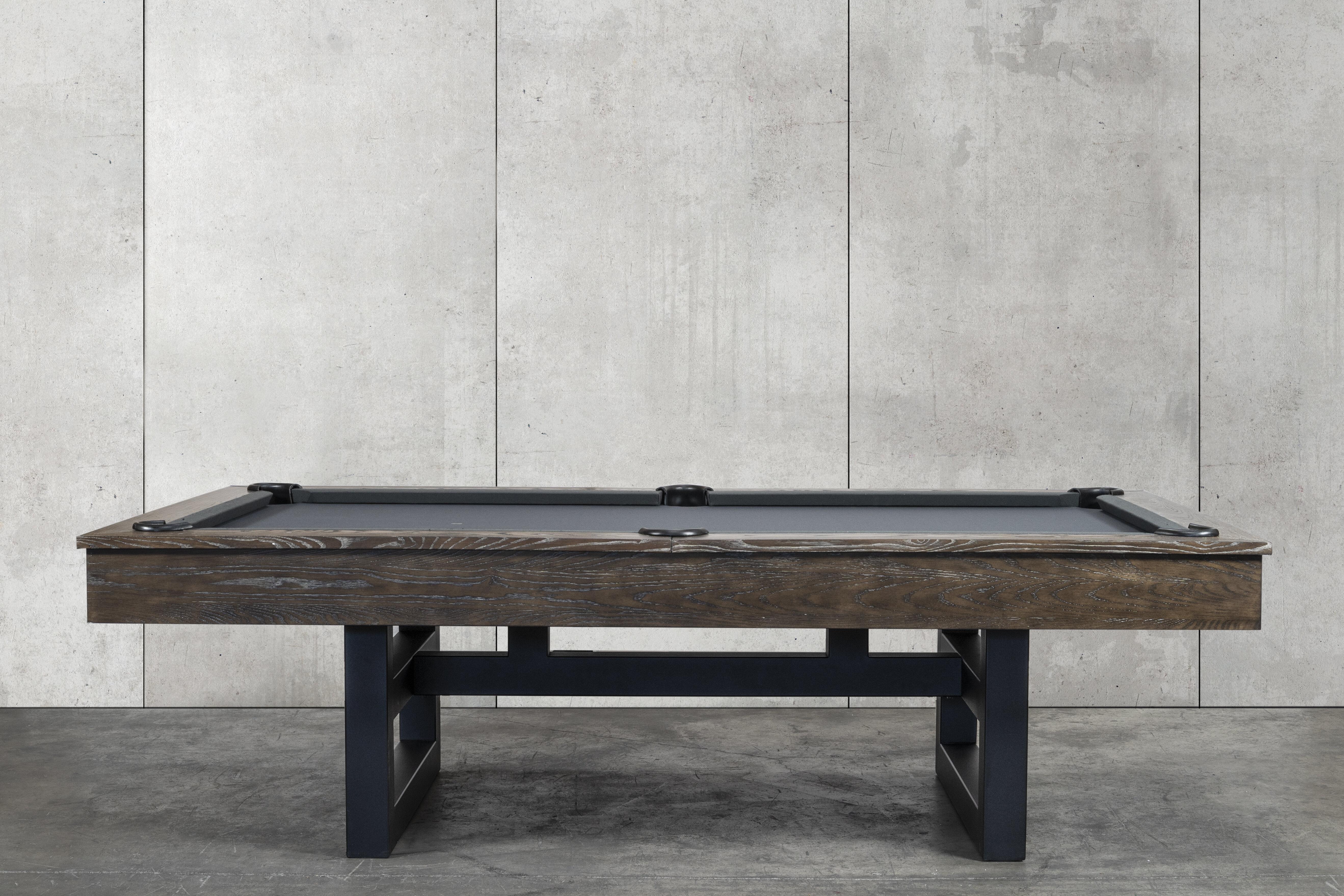 Nixon Billiards Mckay 8 Slate Pool Table With Professional Installation Included Wayfair