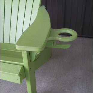 Highland Dunes Jarman Adirondack Chair Cupholder