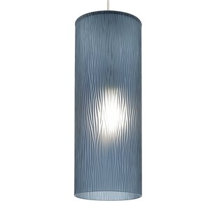 LBL Lighting Akari 1-Light Cylinder Pendant