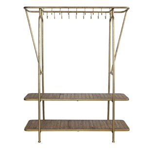 17 Stories Daleville 18 Hook Coat Rack