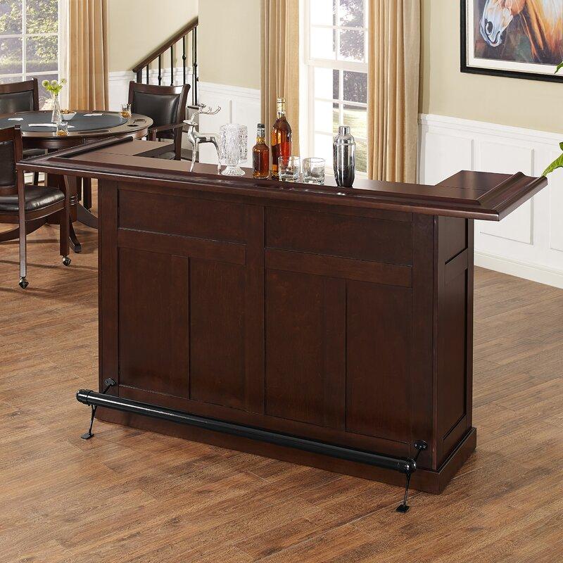 Loon Peak® Bar avec rangement pour le vin Genoa et Commentaires | Wayfair.ca
