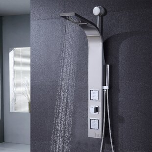 Gedy Thermostatic Shower Column.Shop For Diverter Dual Shower Head Shower Panel By Luxier