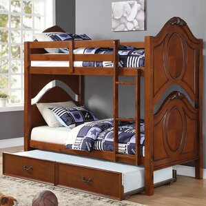 Ryals Twin Over Twin Bunk Bed by Harriet Bee