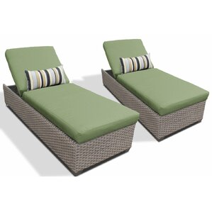 Chaise Lounge With Cushion (Set Of 2) Design