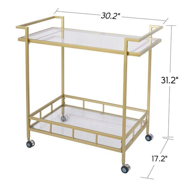Albertson Durable Bar Cart