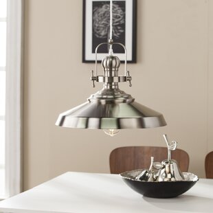 Dutil 1-Light Cone Pendant by Breakwater Bay