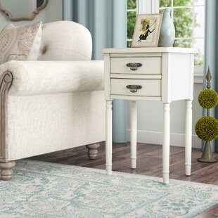 Clever End Table With Storage