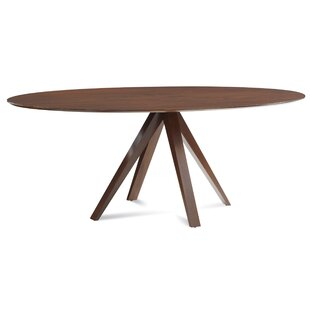 Cullinan Ellipse Solid Wood Dining Table Corrigan Studio