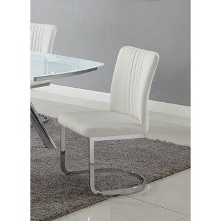 Alina Upholstered Dining Chair (Set of 4) by Orren Ellis SKU:AA989193 Details