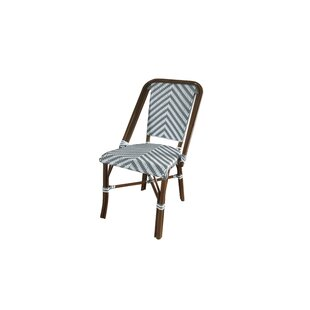 Olguin Modern Café Stacking Patio Dining Chair