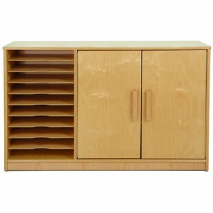 Art Paper 2 Door Accent Cabinet