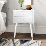 Lyla 2 - Drawer Nightstand by Mercury Row®