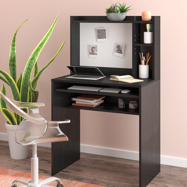 Ebern Designs D Aulizio Desk With Hutch Reviews Wayfair