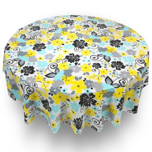 Harvill Retro Garden Floral Tablecloth