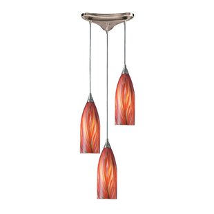 Ange 3-Light Pendant by Bloomsbury Market