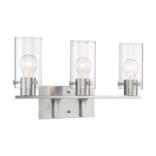 Ebern Designs Waveland 3 Light Dimmable Vanity Light More Special