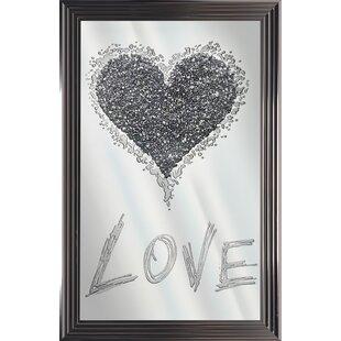 Mirror Heart Graphic Art Wayfair Co Uk