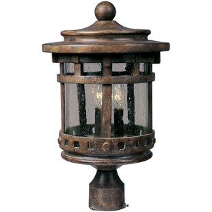 Best Billancourt Outdoor 3-Light Lantern Head By Loon Peak