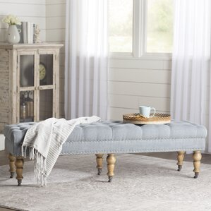 Grey Bedroom Benches You\'ll Love | Wayfair