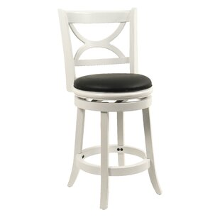 Lakemoore 24 Swivel Bar Stool by Red Barrel Studio