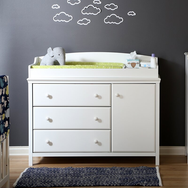 South Shore Cotton Candy Changing Dresser Reviews Wayfair