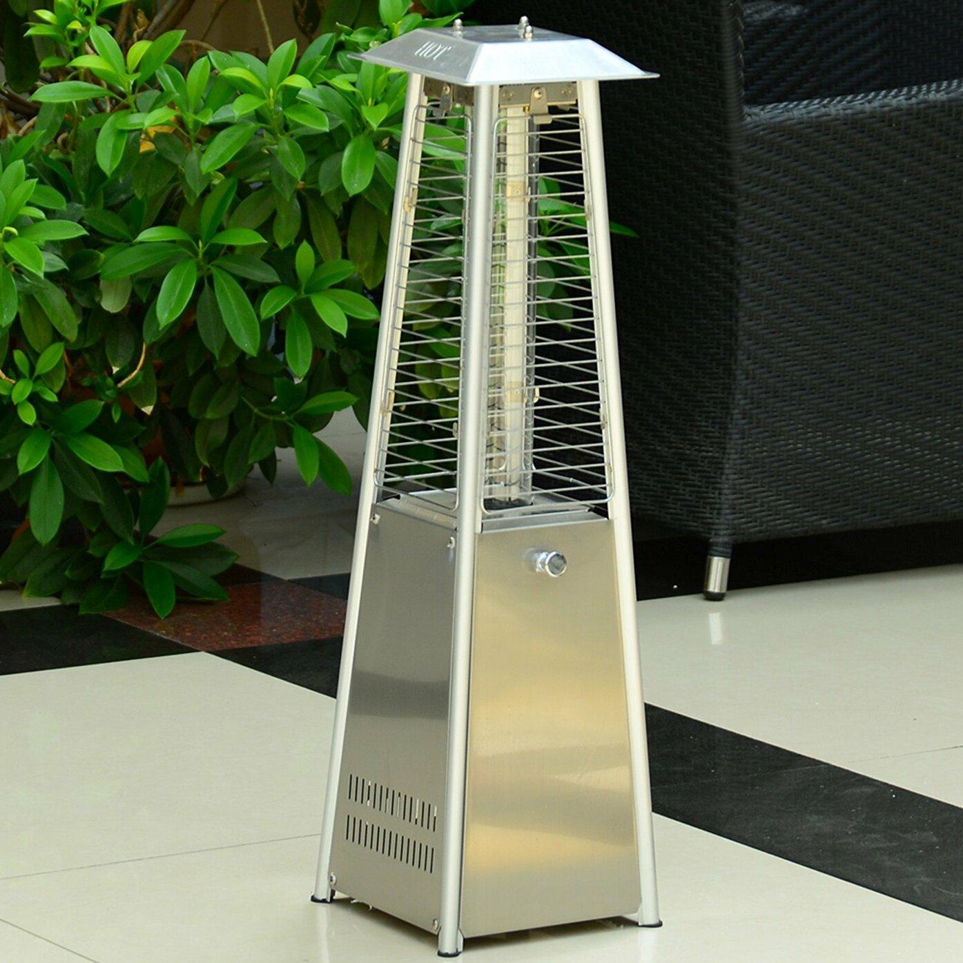 Outsunny Garden Table Top Propane Patio Heater & Reviews