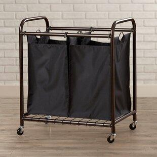2 Bag Rolling Laundry Sorter