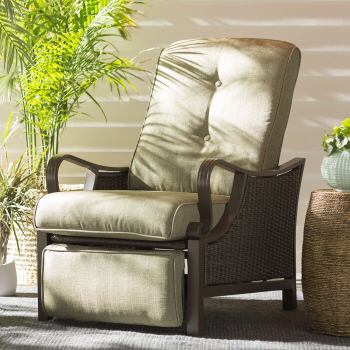 Stupendous Sherwood Luxury Recliner Patio Chair With Cushions Cjindustries Chair Design For Home Cjindustriesco