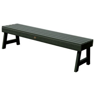 Darby Home Co Berry Backless Synthetic Wood Picnic Bench