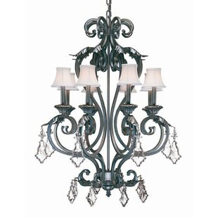 2nd Ave Design Josephine 8-Light Shaded Chandelier