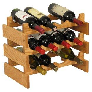 Dakota 12 Bottle Floor Wine Rack