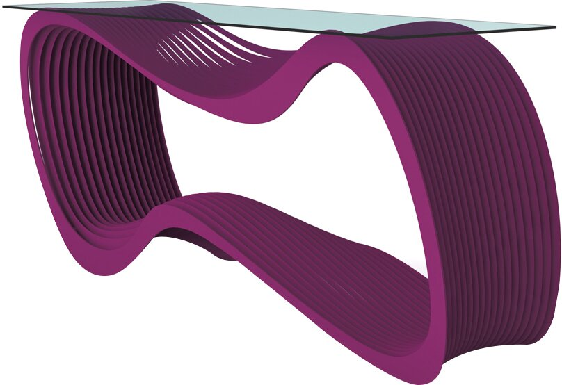 Loop Console Table purple console tables Discover Modern Purple Console Tables Loop Console Table