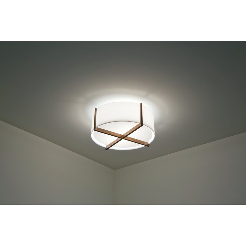 Cerno Plura 1 Light Flush Mount Wayfair