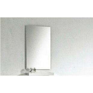 Donatello 157 x 275 Surface Mount Frameless Medicine Cabinet Mirror by Orren Ellis
