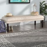 Bobby Upholstered Bench by Charlton Home®